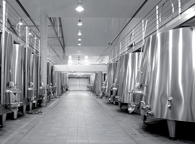 <p>The new vat room has been designed to suit the patchwork of parcels and to be as flexible as possible when the harvest is brought in.</p>