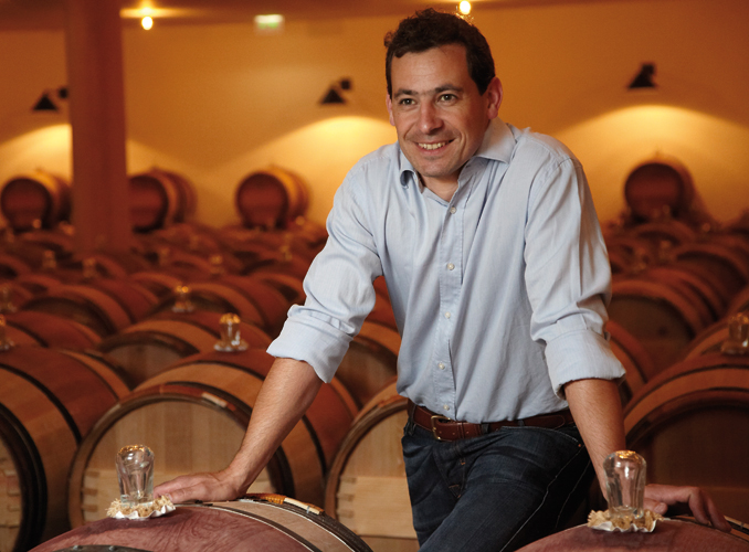 <p>Frédéric Faure, the Cellar-master of the Château.</p>